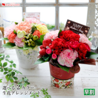 母の日 生花アレンジメント