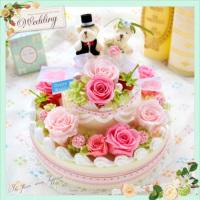 2段のWedding cake